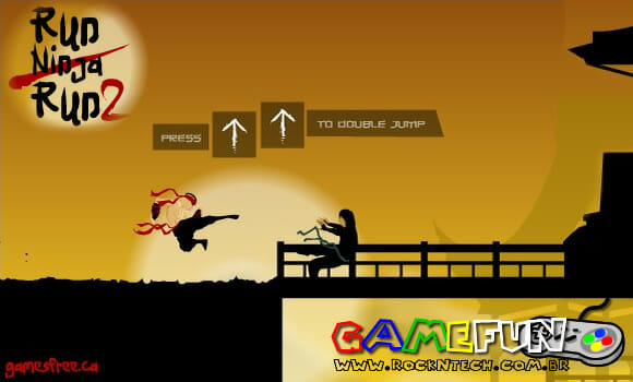 GAMEFUN - Run Ninja Run 2