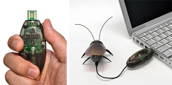 Tecnologia do medo: Gokiraji - As baratas robóticas japonesas! (vídeo)