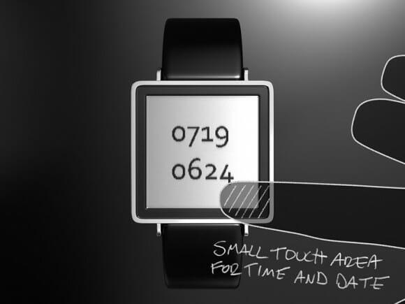 Relógio de pulso criativo utiliza a gravidade para embaralhar os números