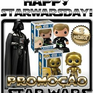 Feliz #StarWarsDay! Comemore concorrendo a Action Figures e Bobble Heads Star Wars!