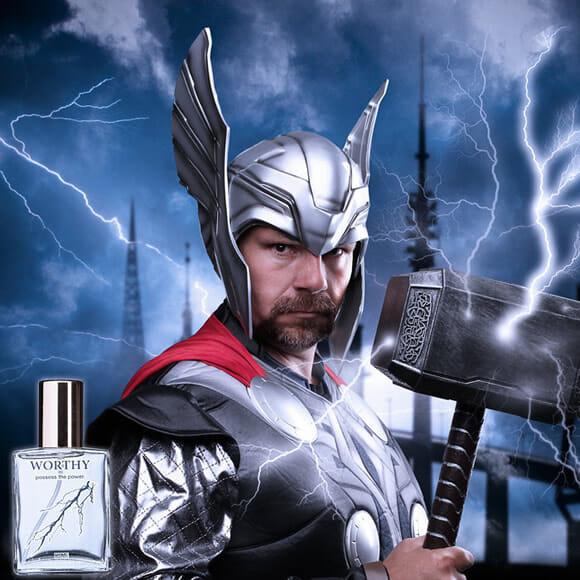 Novas colônias Os Vingadores: Sinta-se um herói sem super poderes, mas cheiroso!