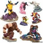 Coleção de figures X-Men oficiais da Marvel
