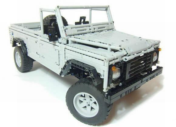 Réplica de Land Rover feita de LEGO tem até caixa de marchas que funciona! (vídeo)