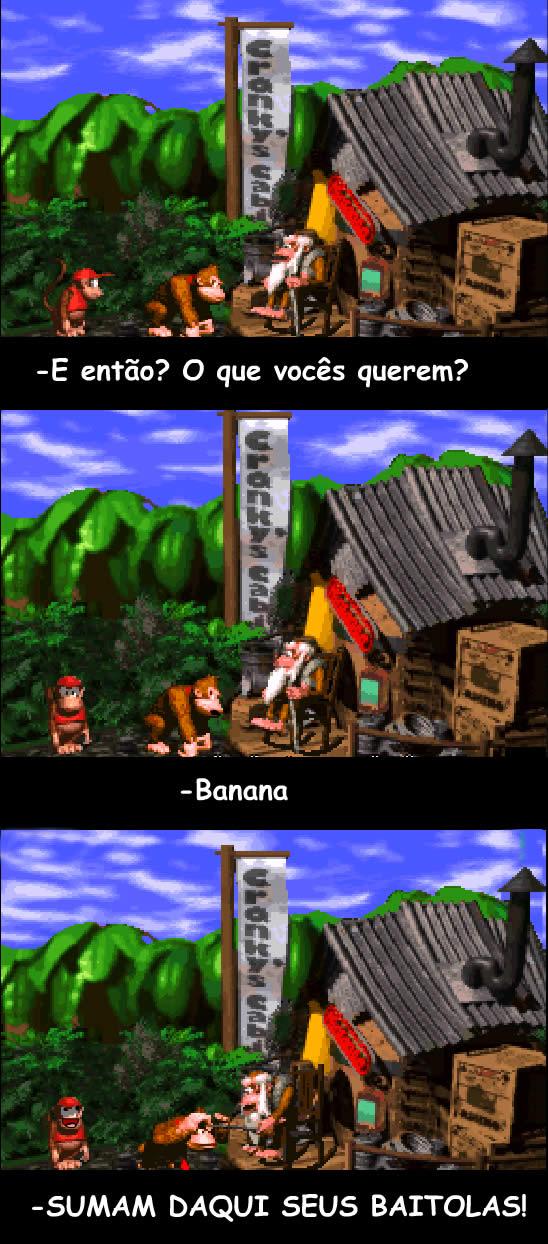 LINKFUN Semana 20/12 - Links e Bananas ao som de Donkey Kong Country!