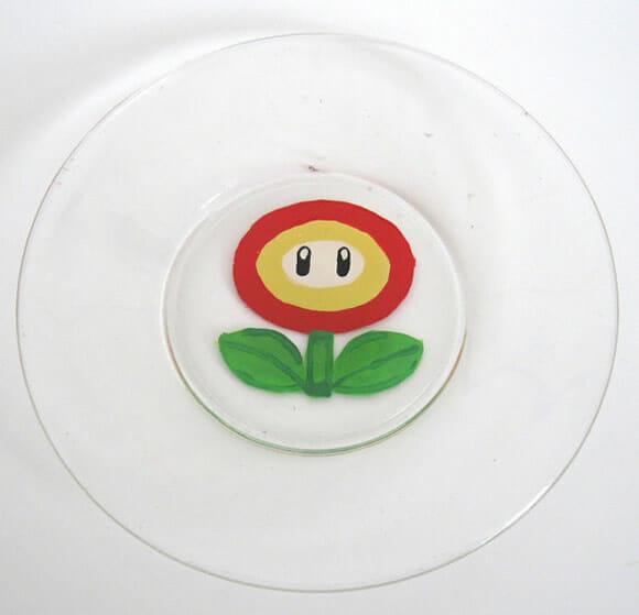 Louças AWESOME personalizadas com o tema Super Mario!