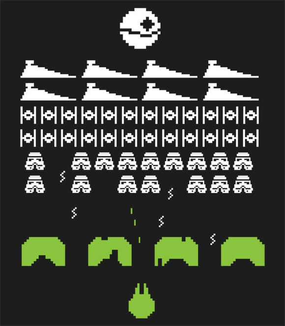 Mashups misturam Star Wars com jogos de Atari