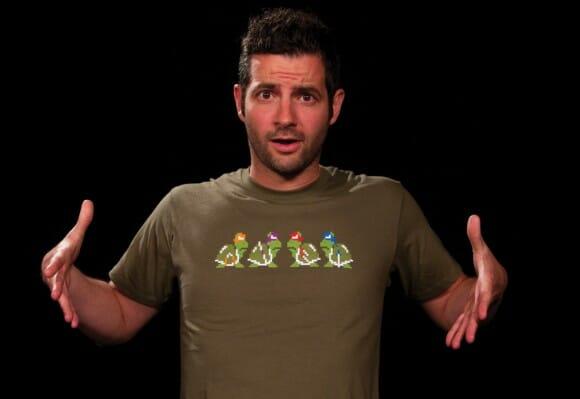Koopa Troopas + Tartarugas Ninjas = Camiseta Ninja Troopas