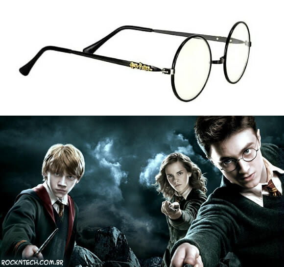 Vai de Harry Potter na próxima festa à fantasia? Use os óculos originais do personagem do filme!