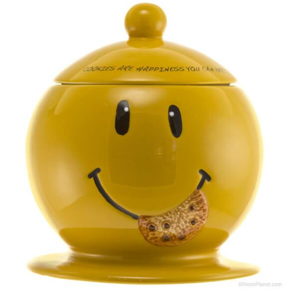 Pote de biscoito do Smiley :)