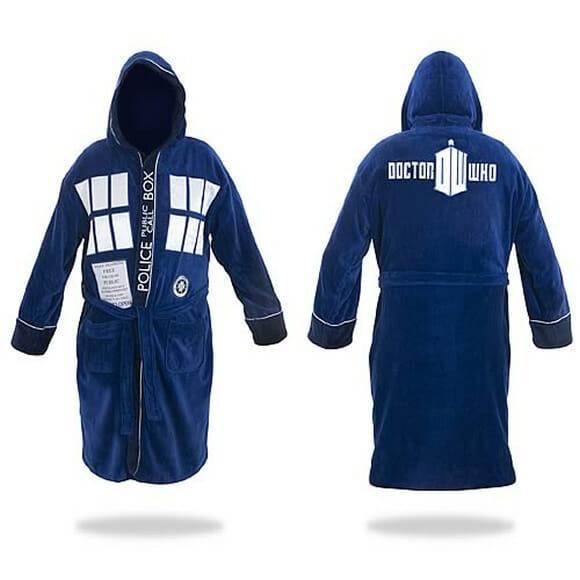 Roupão de banho TARDIS para fãs de Doctor Who