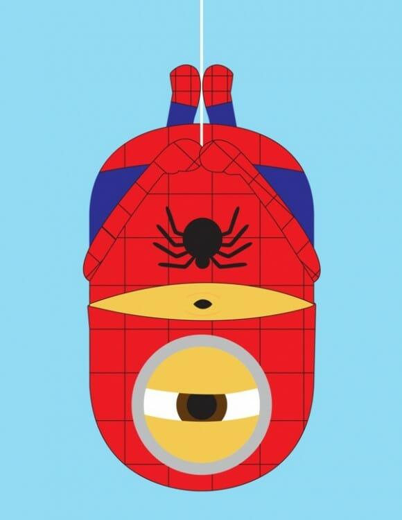 Minions como Super-Heróis