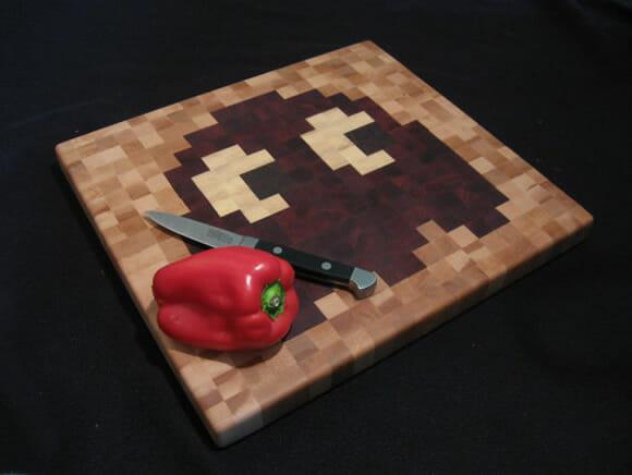 Tábuas de carne para cozinhas geeks