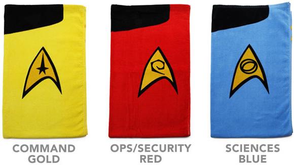 Toalhas de praia do Star Trek
