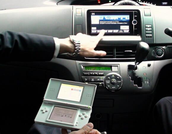 Toyota introduz sistema de controle de navegação via Nintendo DS em seus veículos