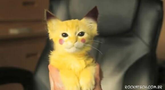 VIDEOFUN - Caçando um Pikachu da vida real