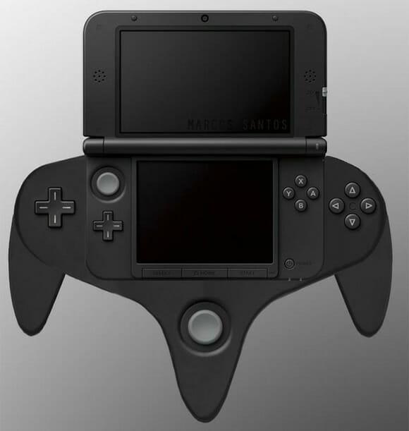 RUMOR: Nintendo lançará controle extra para Nintendo 3DS XL similar ao do Nintendo 64