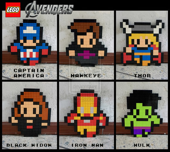 Isso é legal do dia: Avengers de LEGO!