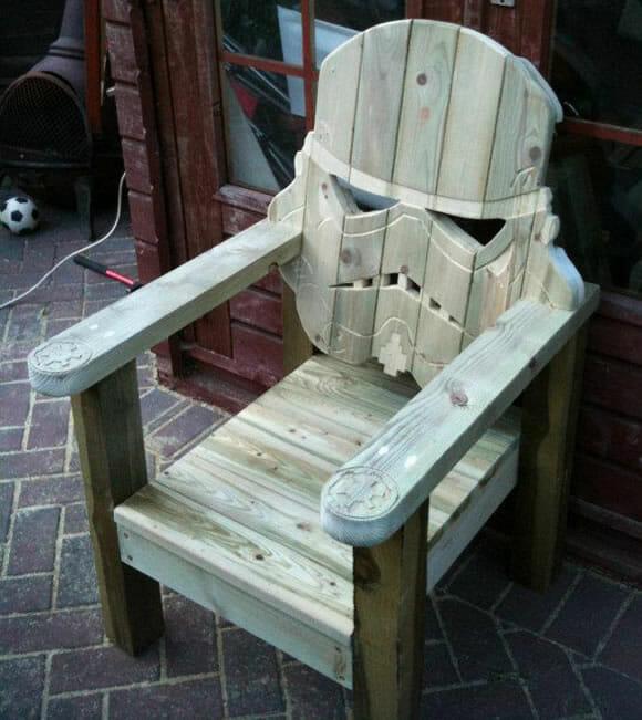 Cadeira Stormtrooper é geek no úrtimo!