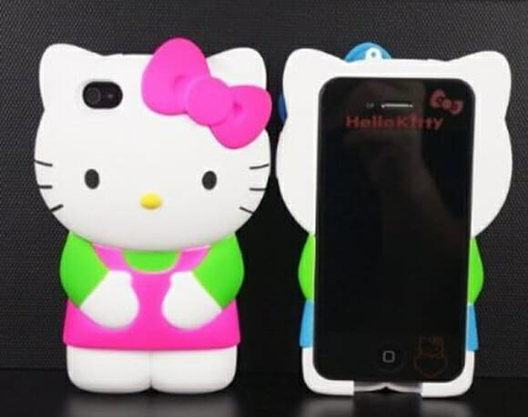 Capa para iPhone da Hello Kitty deixa o smartphone parecendo um brinquedo