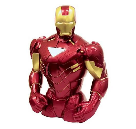 Cofrinho Iron Man não te deixa milionário como Tony Stark, mas incentiva a economizar