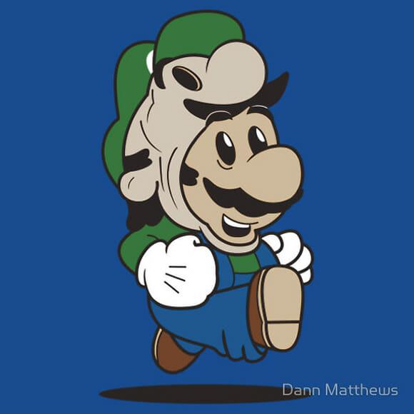 FOTOFUN - Mario suits: Player One e Luigi Suit