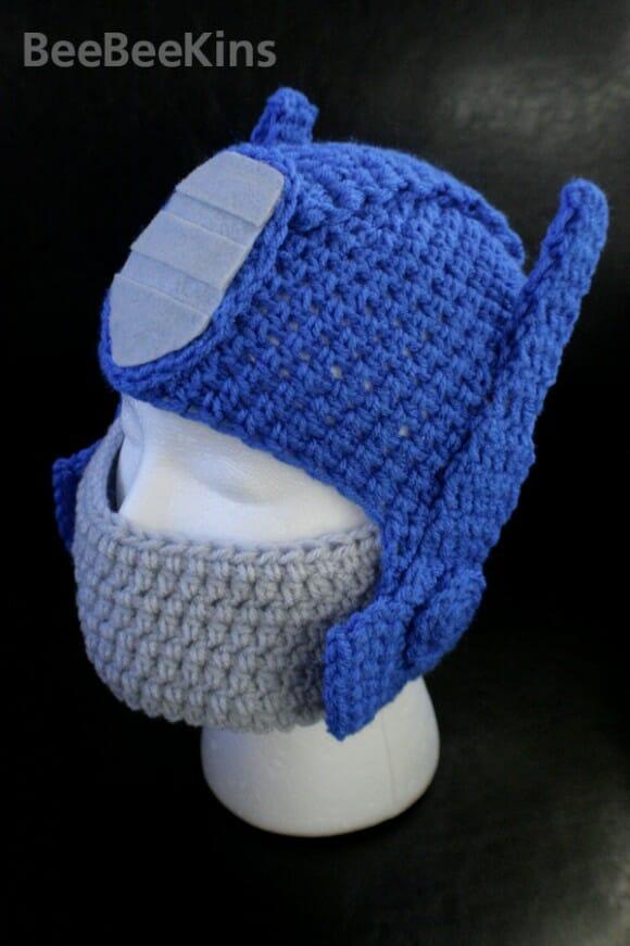 Gorro do Optimus Prime protege a cabeça dos geeks no inverno