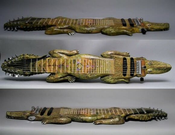 Guitarra Jacaré - Clique para ampliar!