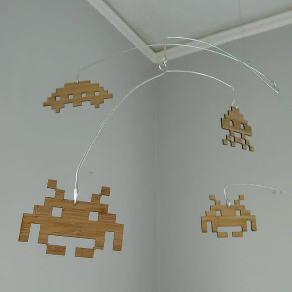 Mobile geek: Invasão de Space Invaders no quarto!