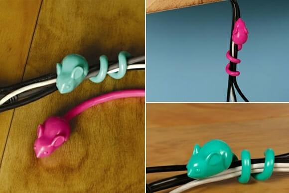 Mousetail - Ratinhos que ajudam a botar ordem nos fios do PC