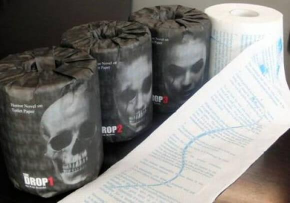 Terror no Trono! Empresa japonesa vende rolos de papel higiênico com histórias macabras