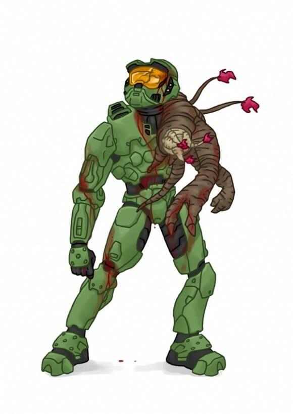 Personagens de videogame como zumbis
