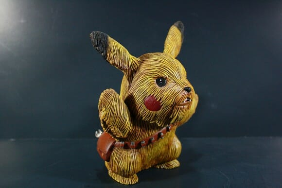 Pikachewie - Uma mistura de Pikachu com Chewbacca
