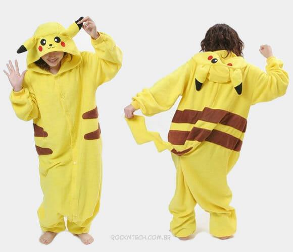 Pikajama - Pijama do Pikachu!