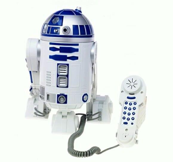 Aparelho de telefone R2-D2 de Star Wars - Até quem não é fã vai querer ter um!