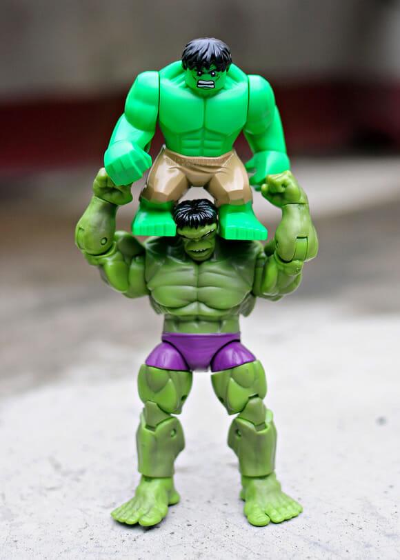 Super-Heróis em: Super pais!