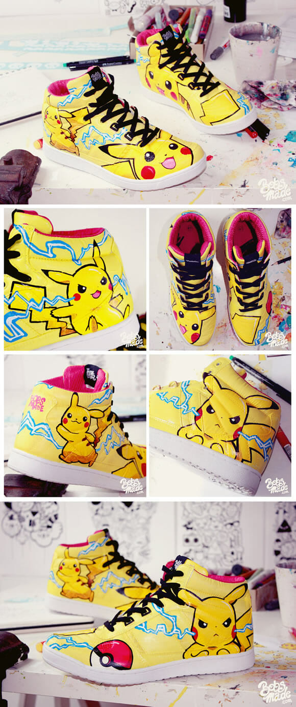 Sneaker do Pikachu