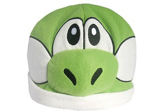 Toucas para fãs de Super Mario