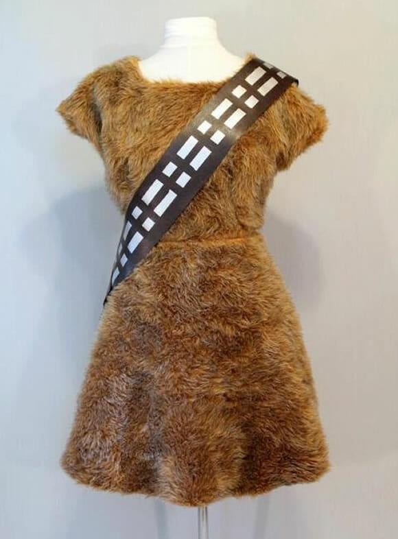 Do Star Wars para o guarda-roupas: Vestido Chewbacca e Ewok!
