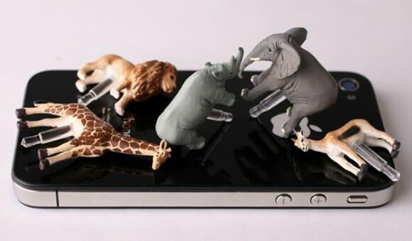 Acessórios Safari Collection - Animais para decorar seu smartphone