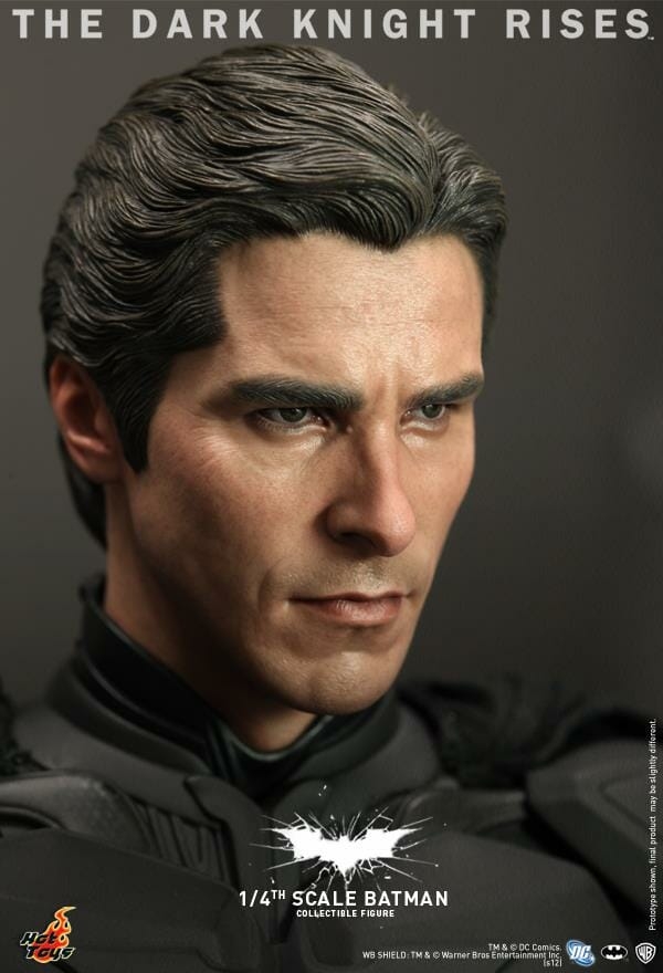 Hot Toys lan  231 a action figure do Batman baseado no filme    O    Hot Action Figure