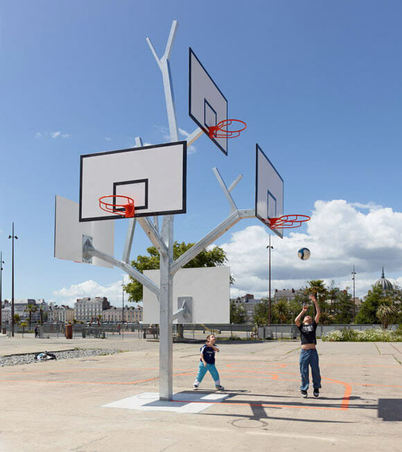 Árvore de tabelas de basquete é ideal para multi-partidas ou treinos intensivos