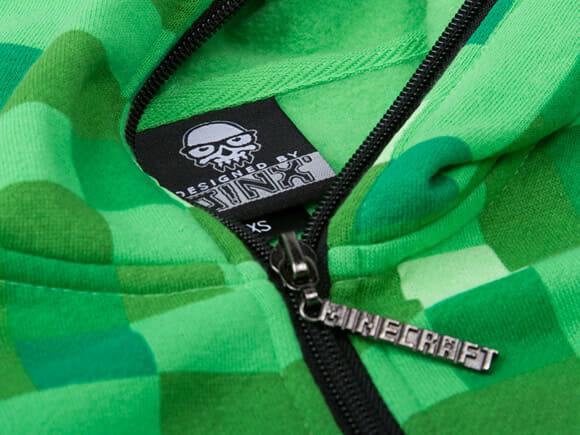 Blusa Creeper para fãs de Minecraft