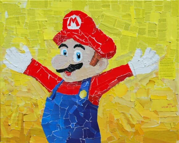 Colagens incríveis de personagens famosos do mundo dos games