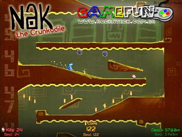 GAMEFUN - Nak the Crunkodile
