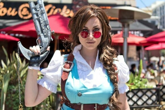 Lara Croft Steampunk