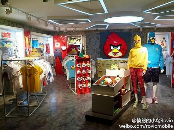 Rovio abre loja oficial do Angry Birds na China