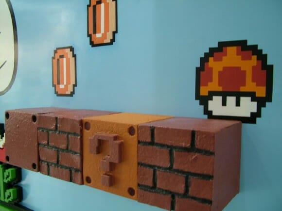 Mural 3D do Super Mario: Você está fazendo isso direito