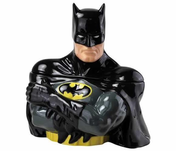 Pote de biscoitos do Batman