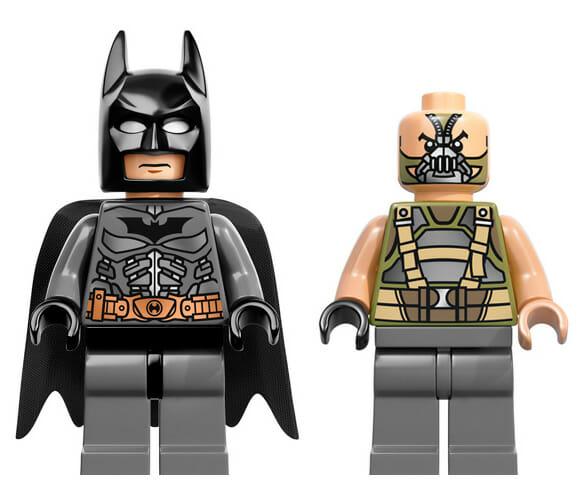 LEGO lança minifigures dos personagens do filme Batman - O Cavaleiro das Trevas Ressurge