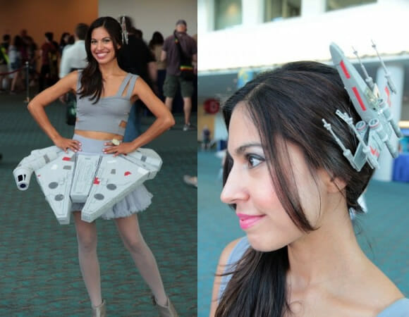 Modelito Millennium Falcon foi sucesso na Comic-Con deste ano